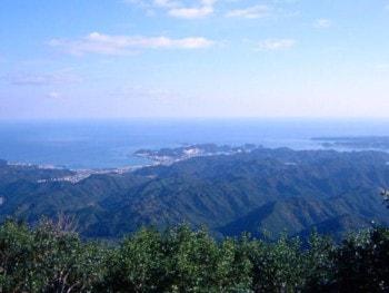 妙法山からの眺め