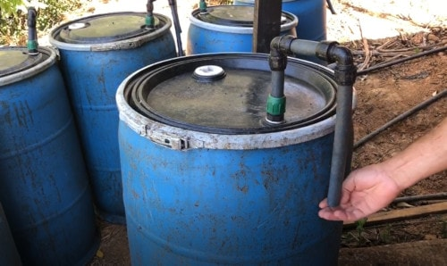 アナエロビコ精製を行うための樽