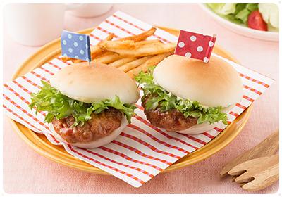 簡単!お手軽!ハンバーガー