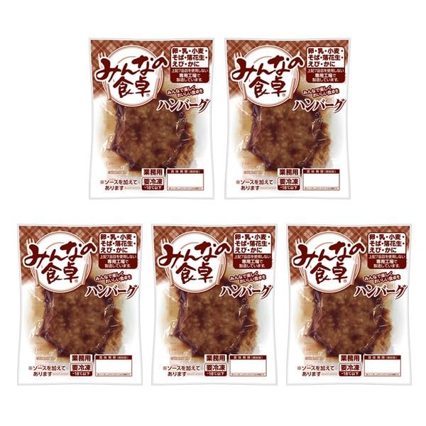 「みんなの食卓」【冷凍】ハンバーグ(5袋)