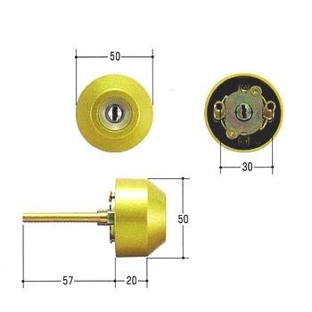 MIWA,美和ロック トステム交換用シリンダー(SCY-79)