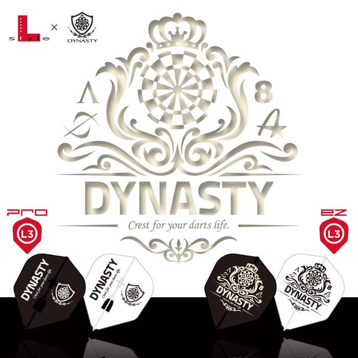 DYNASTY×L-Flight PRO ダイナスティーロゴ