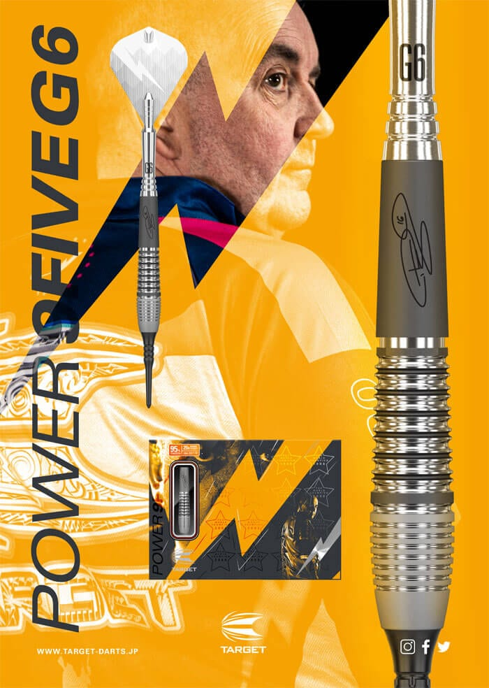 """PHIL """"THE POWER"""" TAYLOR  POWER 9FIVE GENERATION-6 JAPAN EDITION"""