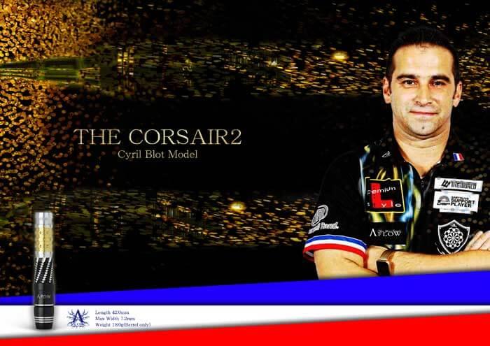 """A-FLOW BLACK LINE CT Type """"THE CORSAIR2""""Cyril Blot MODEL"""