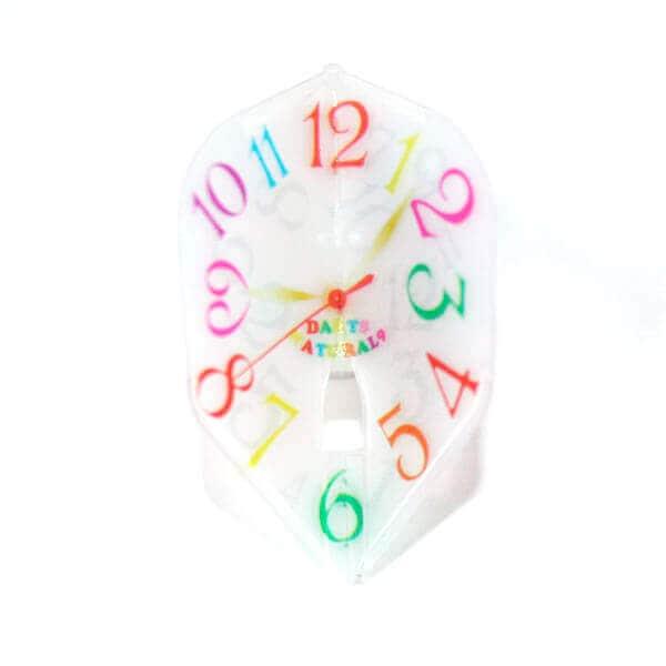 フランクミュラー風時計柄の可愛いダーツフライト