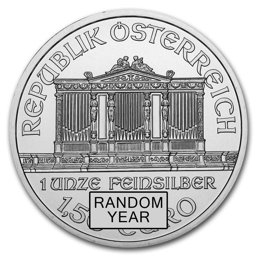 ウィーン銀貨 裏