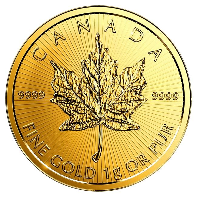 メイプル金貨 表