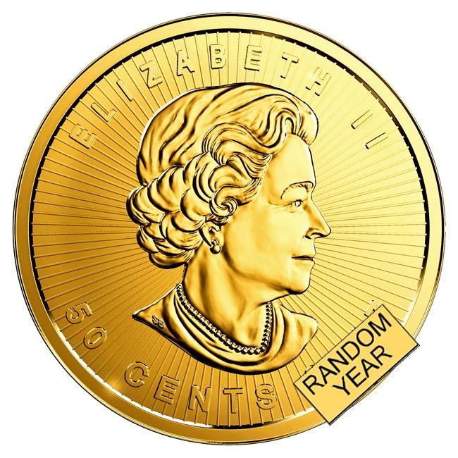 メイプル金貨 裏