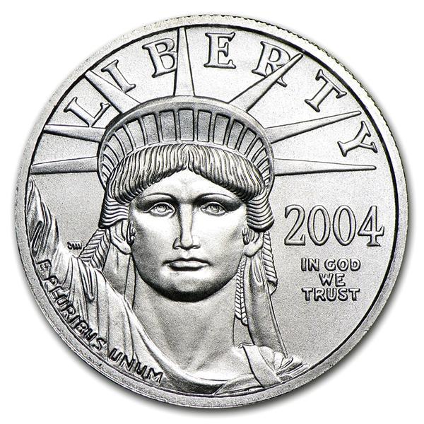 イーグルプラチナコイン 表