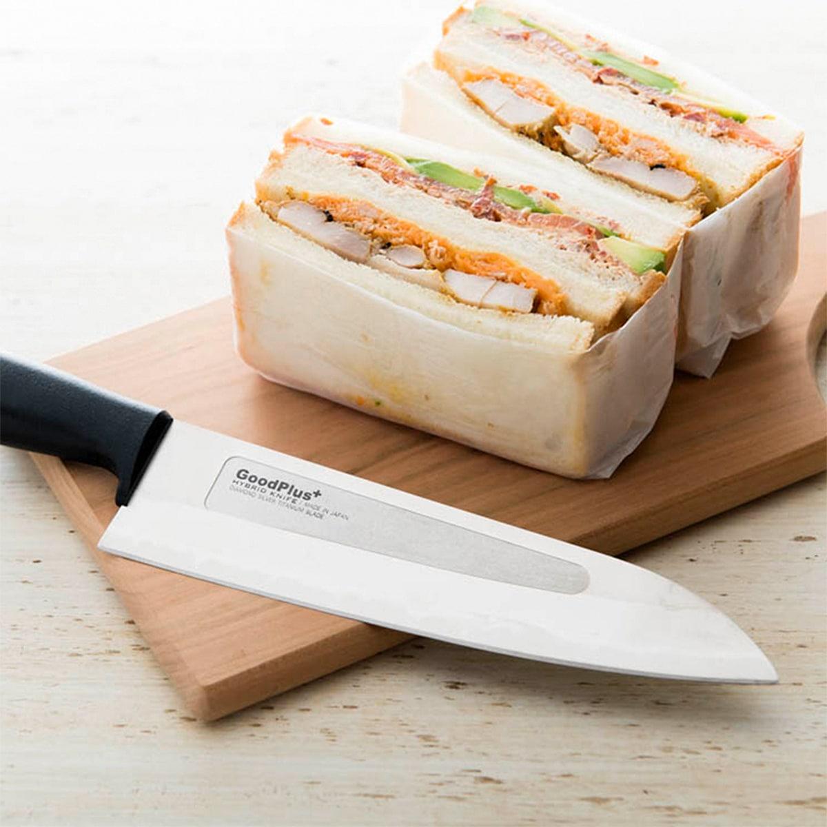 ワンランク上の切れ味 ハイブリッドキッチンナイフシリーズ