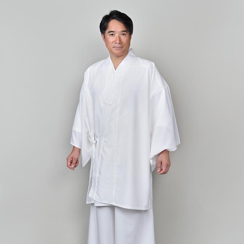 テトロンウール二部式白衣(M-LL)