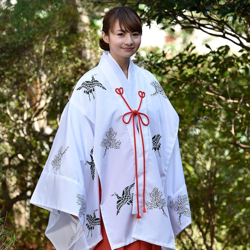 巫女 千早(松鶴)