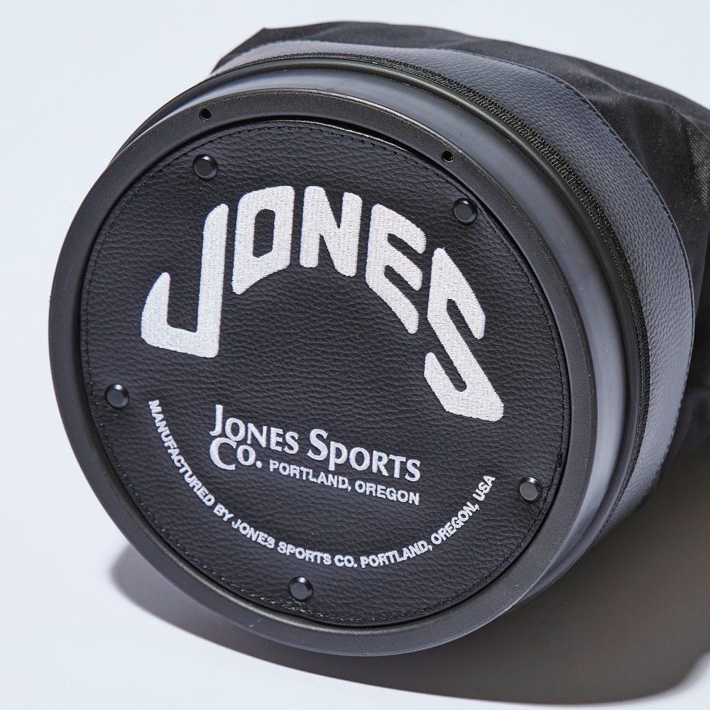 JONES RANGER クーラーバッグブラックジップポケット