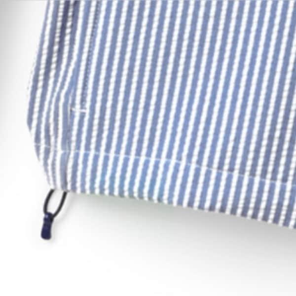 ランズエンドシアサッカースウィングトップ裾コード