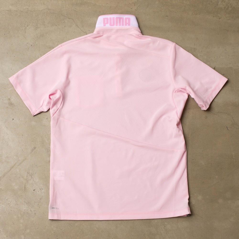 pumaポロシャツ後ろ