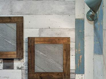 ヴィンテージ壁紙コーディネート画像
