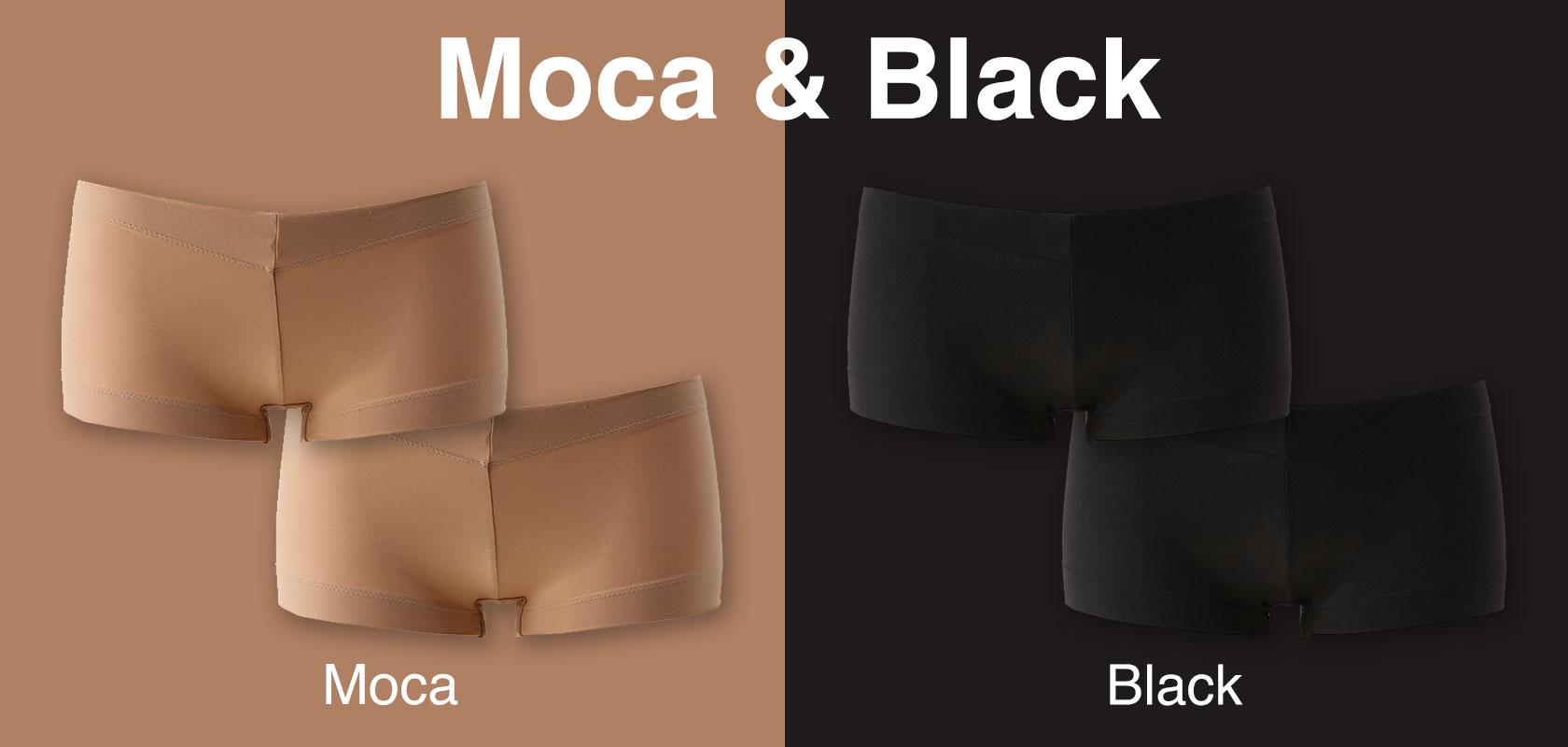 モカ&ブラック4枚セット