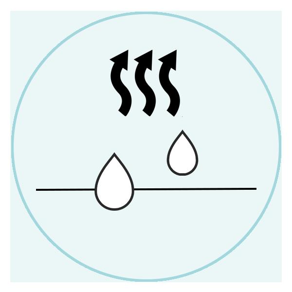 マイクロファイバー生地の特徴|吸汗速乾