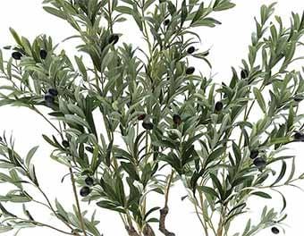 人工観葉植物オリーブの木2100葉