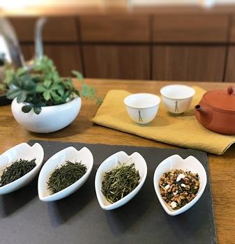 日本茶を楽しむ