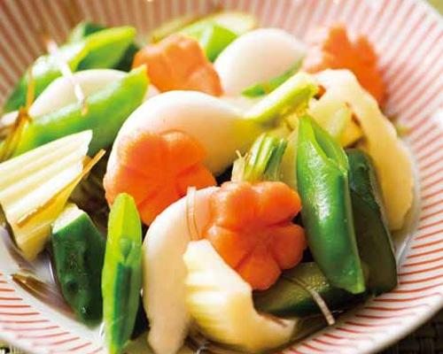 春野菜のうま酢漬けPDF画像