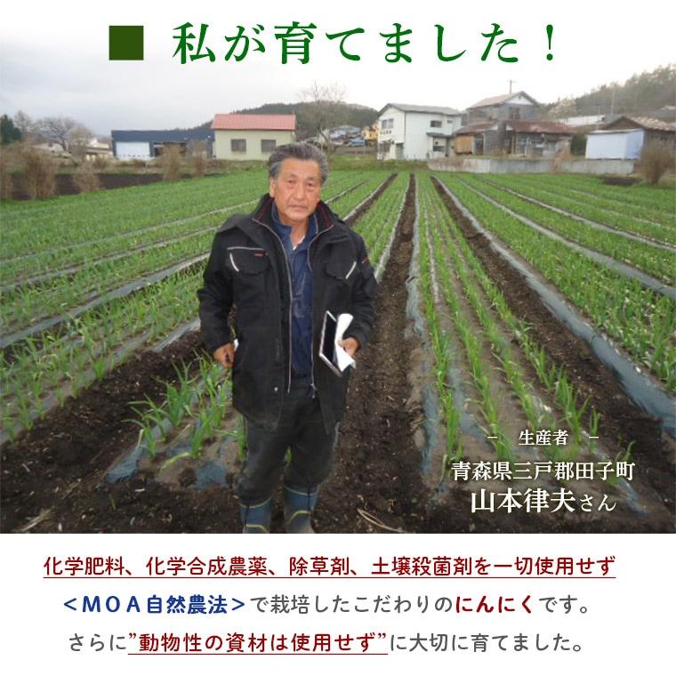 生産者青森県田子町山本律夫さん