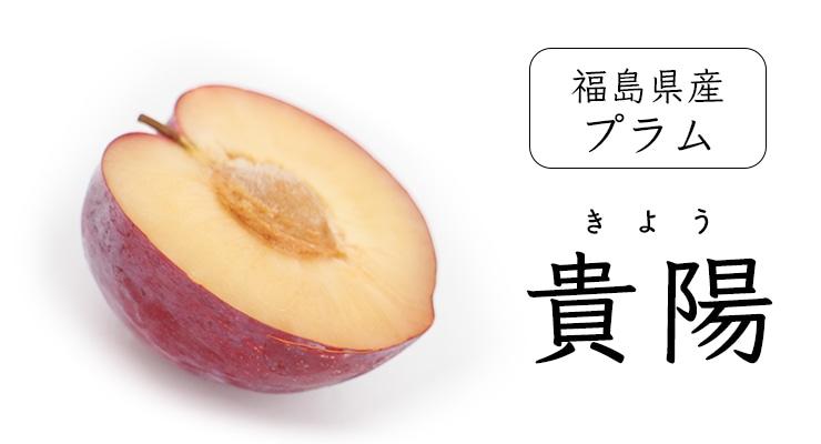 福島県産プラム貴陽
