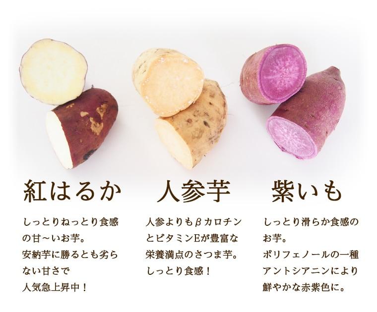 さつま芋セットの種類と特徴