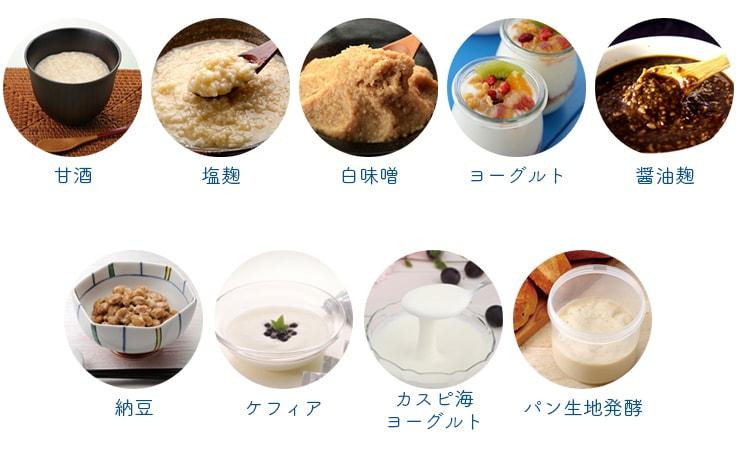 いろいろな発酵食