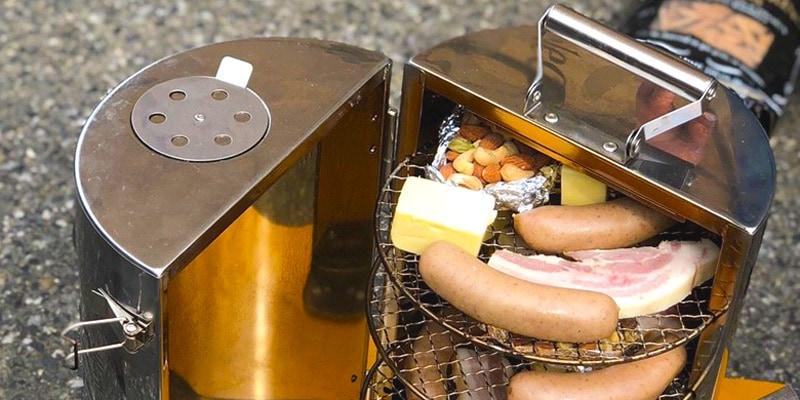 東京アウトドアウィークエンドのスモーク体験コーナー画像