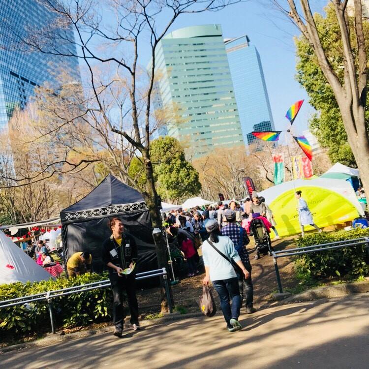 東京アウトサイドフェスティバルの入口写真