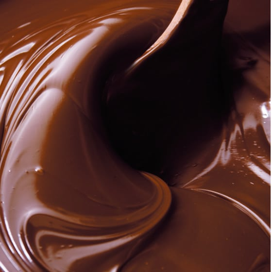 プロフェッショナルが求めるベルギーチョコレートを原料に。