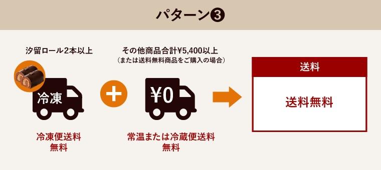 送料無料について パターン3