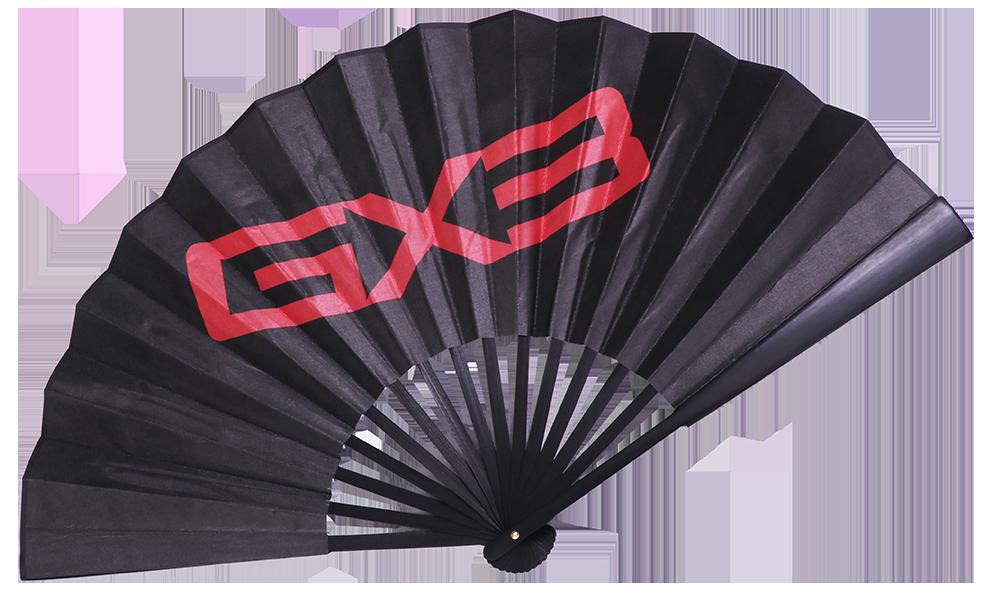 GX3扇子プレゼント