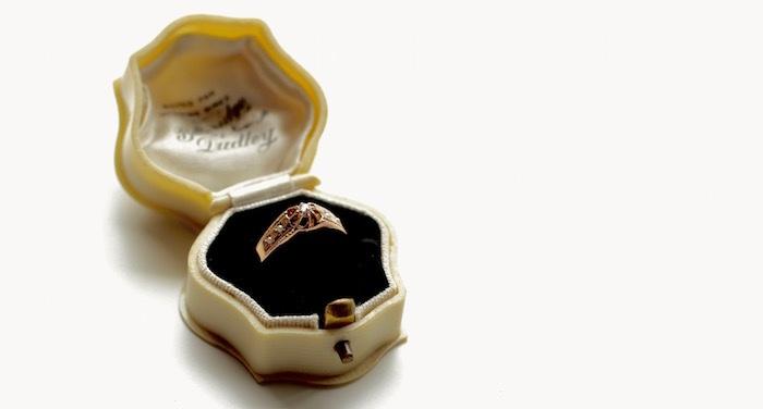 アンティーク フランス ダイア リング アンティークリング 婚約指輪