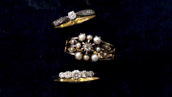 アンティーク エンゲージリング 婚約指輪 ダイアモンド