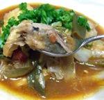 赤魚の和風カレー味スープ