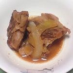 豚軟骨の味噌煮込み