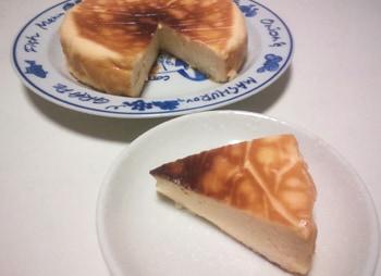はちみつdeベイクドチーズケーキ