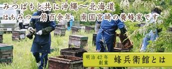 蜂兵衛館西澤養蜂場とは