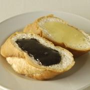 パンにぬるおいしいはちみつ黒ごま