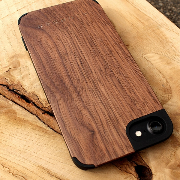 「iPhone Case SE(第2世代)/8/7/6」丈夫なハードケースと天然木を融合したiPhone SE2/8/7/6専用木製ケース
