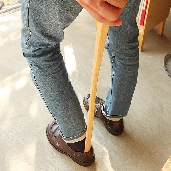 木製靴べら「Shoehorn Lサイズ」80cm