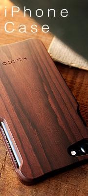 おしゃれなiPhone木製ケース