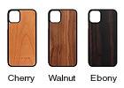 木製iPhone11ハードケース