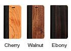手帳型木製iPhone11ケース