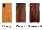 無垢の木製iPhoneXRケース