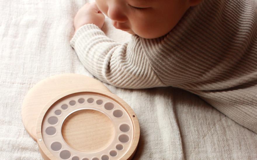 出産祝い・ベビーギフト。赤ちゃんと一緒に育つ木製ギフト