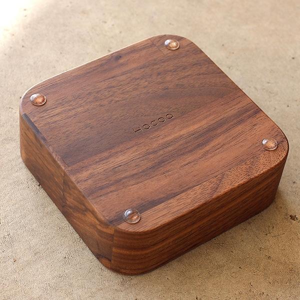 集成材がアンティークな風合いを生み出す木製アクセサリートレイ