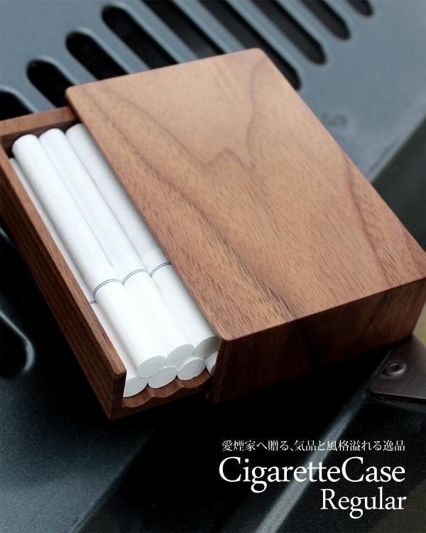 Hacoaブランドの木製タバコ・シガレットケース